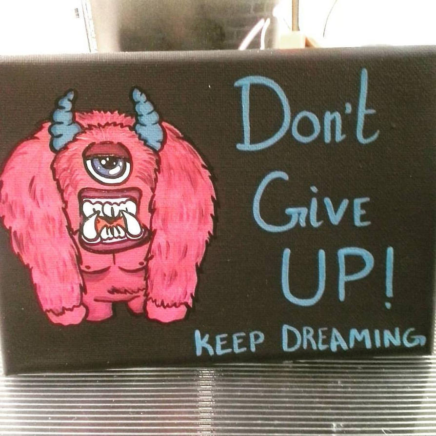 Motivational Monster by LadyRavenShadow
