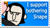 Bothering Snape by leafion00