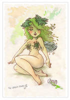 Absinthe Fairy- Step by step 4 by Mikadze