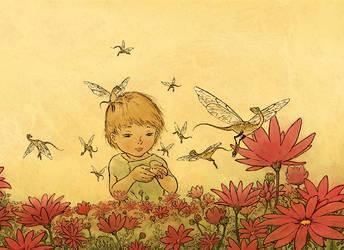 Dragon Flies by Mikadze