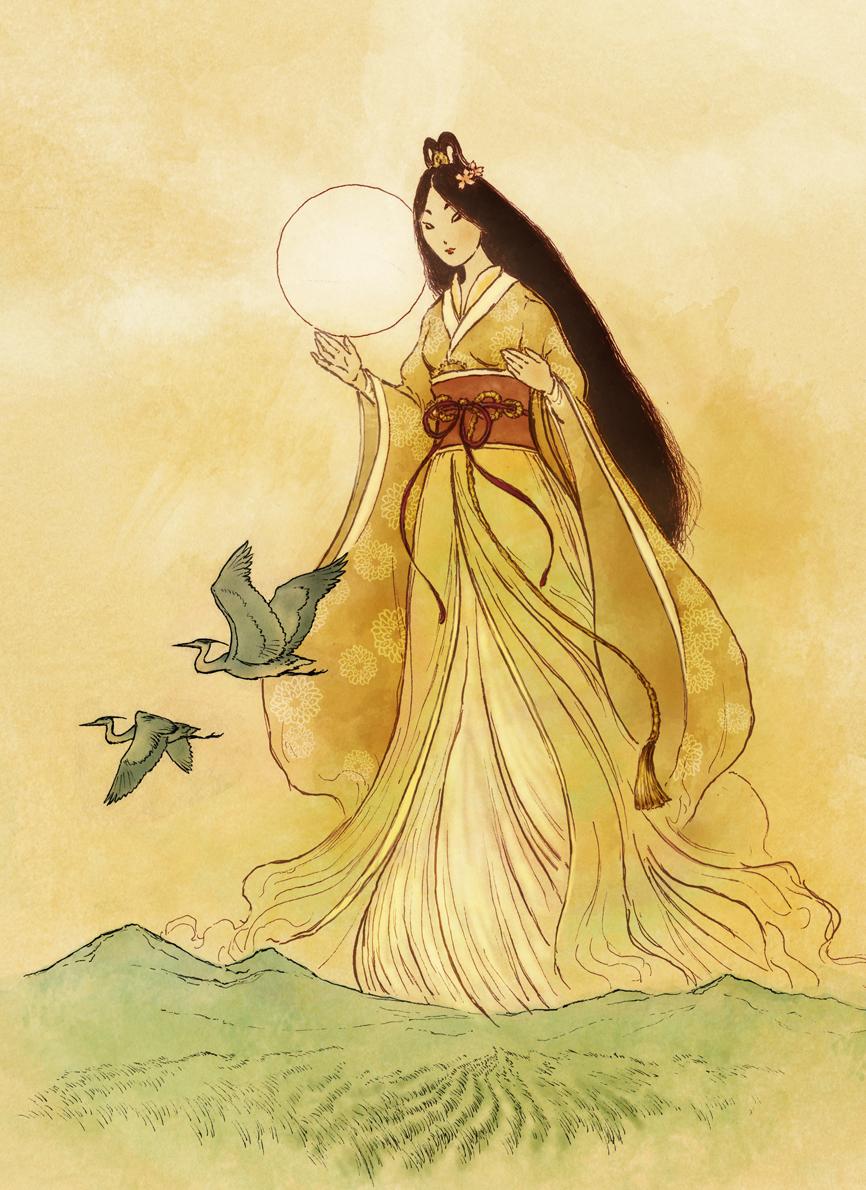 Amaterasu - Shinto Goddess by Mikadze on DeviantArt