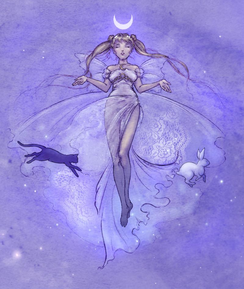 Sailor Moon - Serenity by Mikadze
