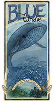 Blue Whale poster by Mikadze