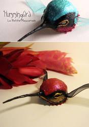 Hummingbird Masquerade Mask