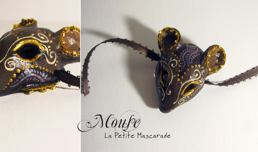 Mouse Masquerade Mask by Mikadze