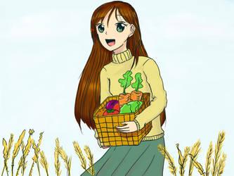 Veggie Girl by EvAsdeceiT