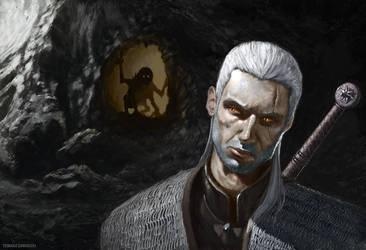 The Witcher Fanart by grrroch