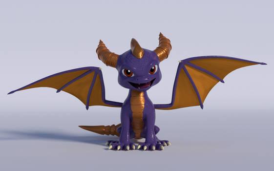 Spyro the Dragon (Blender Render)