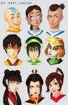 Avatar The Last Airbender (Characters)