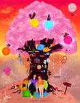 Summer Tree-