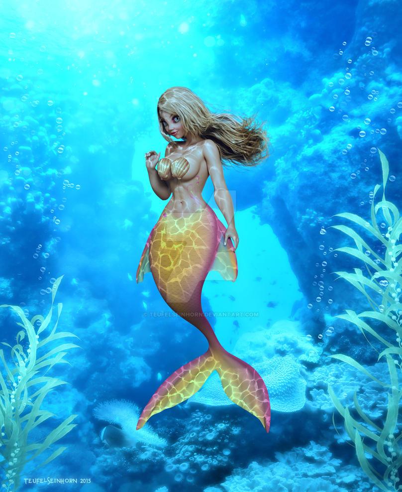 Lil Mermaid by Teufelseinhorn