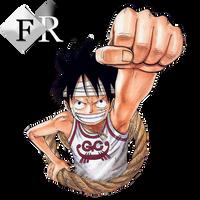 Monkey D. Luffy render 4 by Ferdiferrah