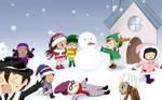 Request : Bakermonium in Snow