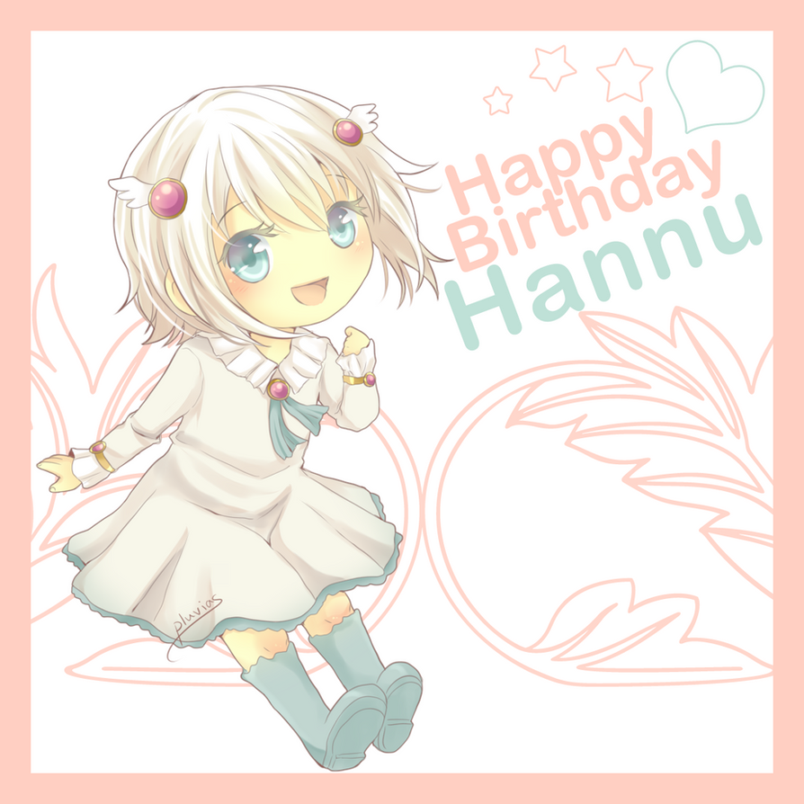 HBD Hannu by Pluvias