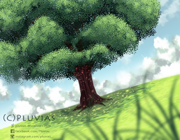 - Tree - by Pluvias