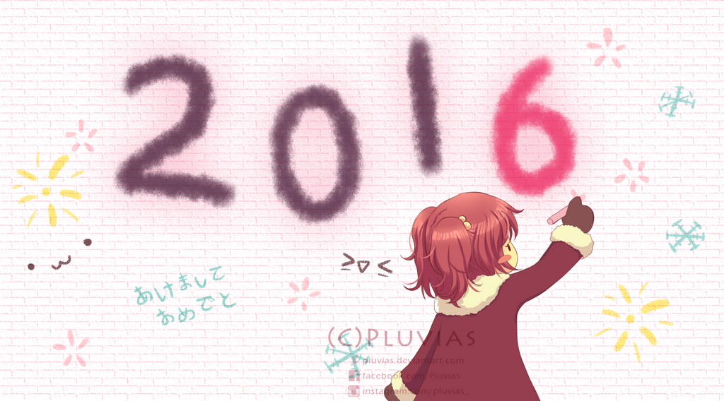 Happy New Year 2016! by Pluvias