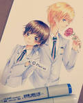 - Haruhi + Tamaki -