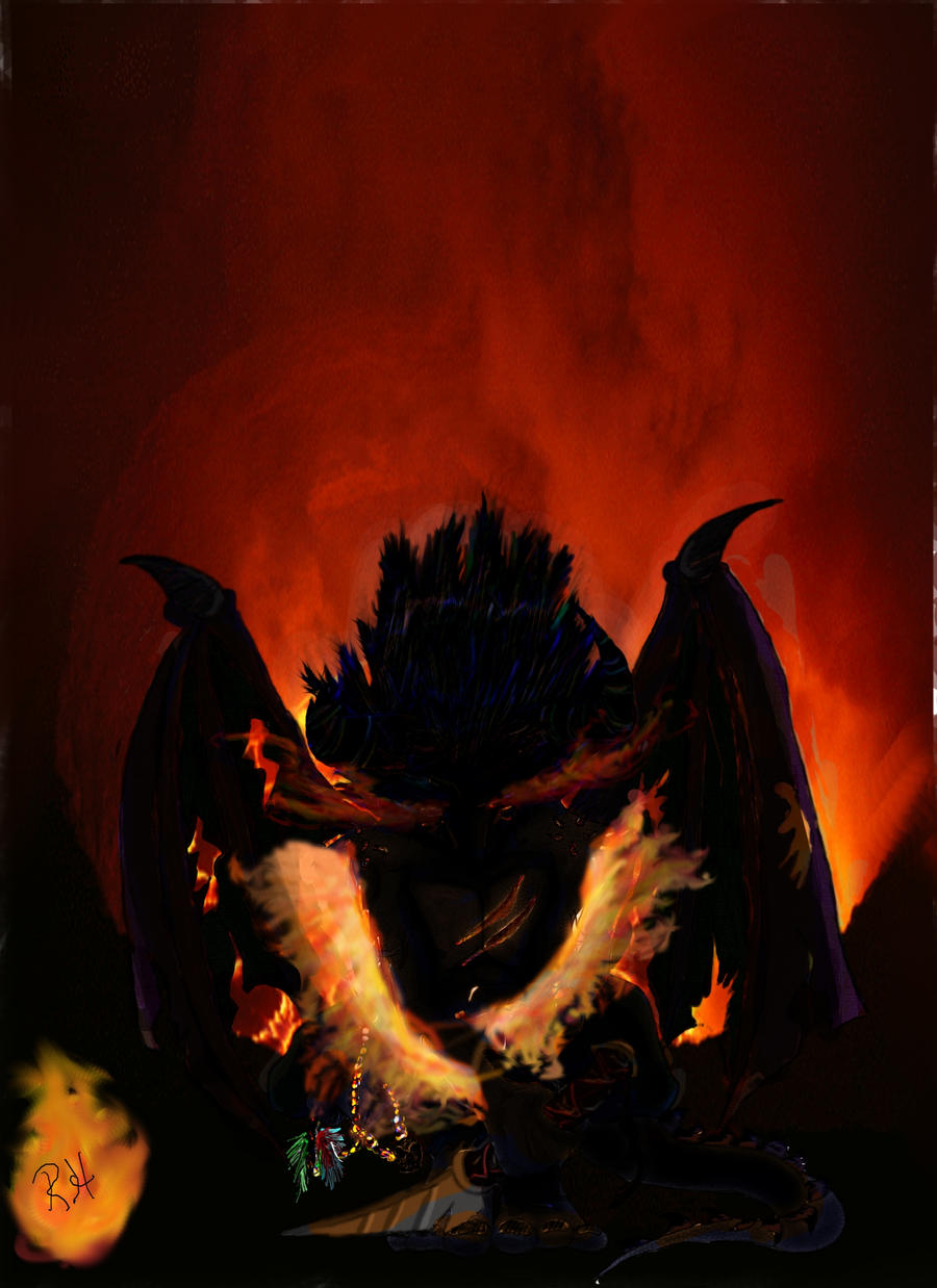 Fire Demon by Hundahl on DeviantArt