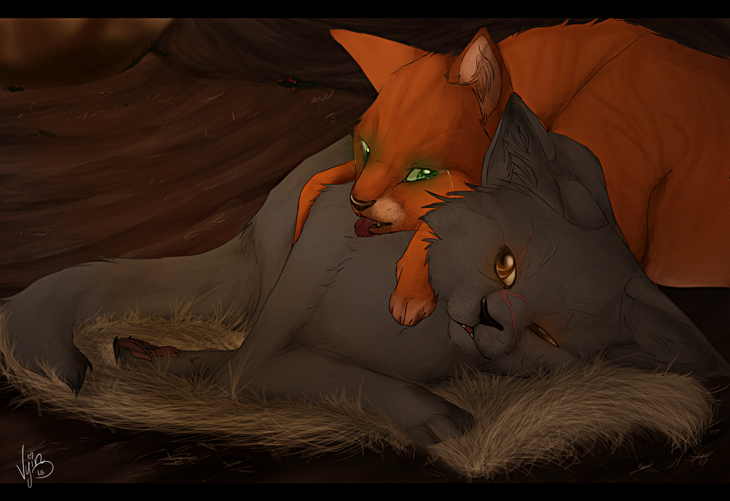 Yellowfang And Fireheart 'I wish you'd be my so...