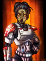 Kyoko Imara - Republic Trooper by HausofDye