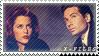 X-Files Stamp