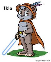 Ikia the Jedi Ewok by Timothius