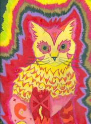 Kaleidoscope Cat