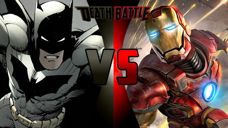 Death Battle Batman vs. Iron Man by Alvin1794 on DeviantArt