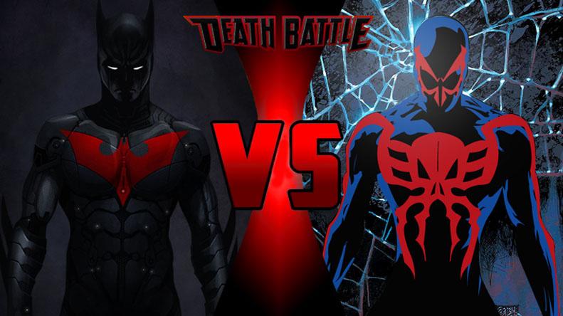 Death Battle Batman Beyond Vs. Spider-Man 2099 By