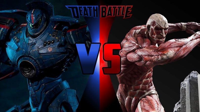 Death Battle Gypsy Danger vs. Colossal Titan by Alvin1794 ...