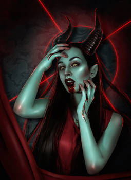 Queen the devil
