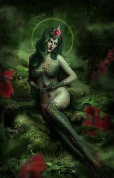 Mermaid. Queen of the Dark Forest