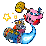 Kirby VS Masked Dedede (Wip)