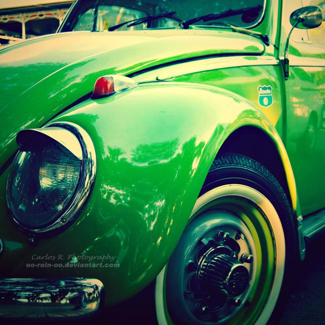 VW Beetle In Kiwi