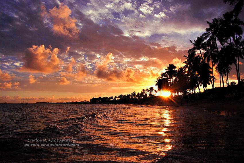 Summer Waves Good Bye by oO-Rein-Oo