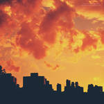 Fiery Evening by oO-Rein-Oo