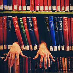 Horror Books by oO-Rein-Oo