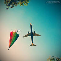 Rainbow In The Sky by oO-Rein-Oo