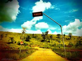 Trail On The Fields by oO-Rein-Oo