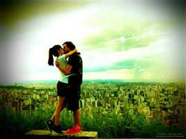 One BIG BIG Kiss by oO-Rein-Oo