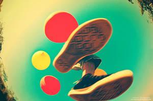 A Leap To Lightness by oO-Rein-Oo