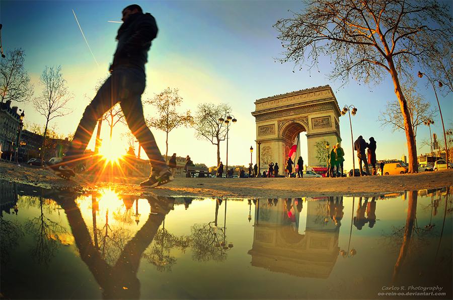 L'Arc De Triomphe by oO-Rein-Oo