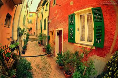 Street Of Colorful Dreams by oO-Rein-Oo
