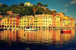 The Italian Riviera by oO-Rein-Oo