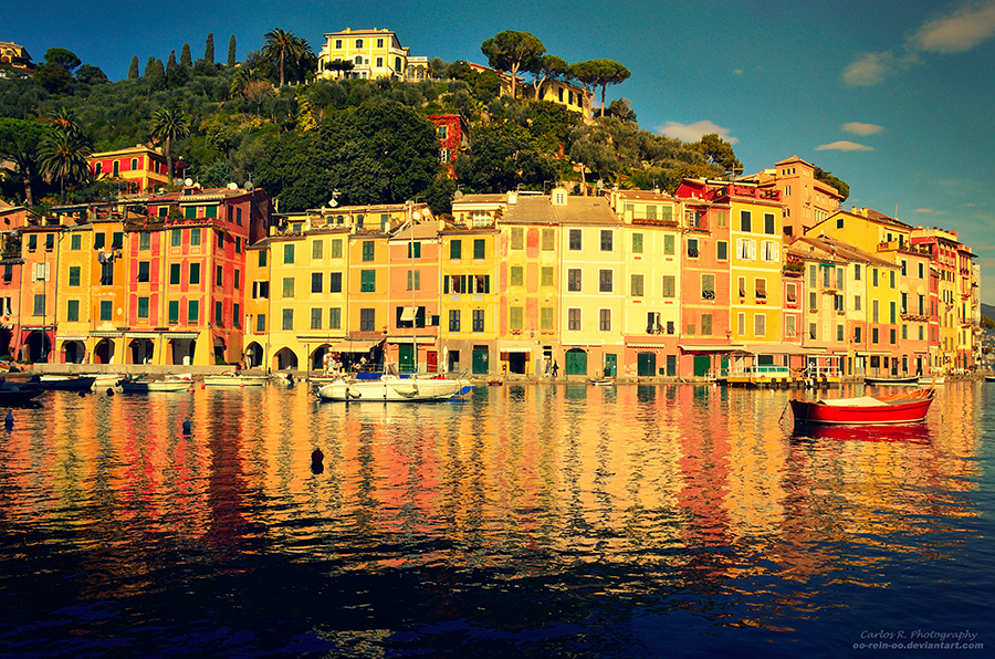 The Italian Riviera by oO-Rein-Oo