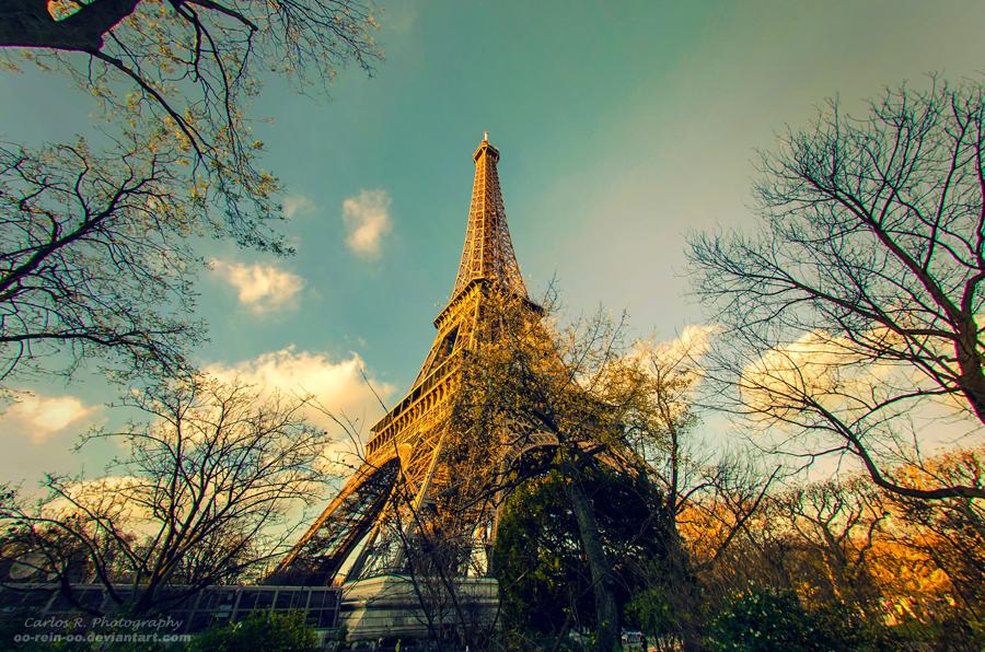 La Tour Eiffel by oO-Rein-Oo