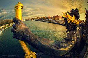 Pont Alexandre III by oO-Rein-Oo