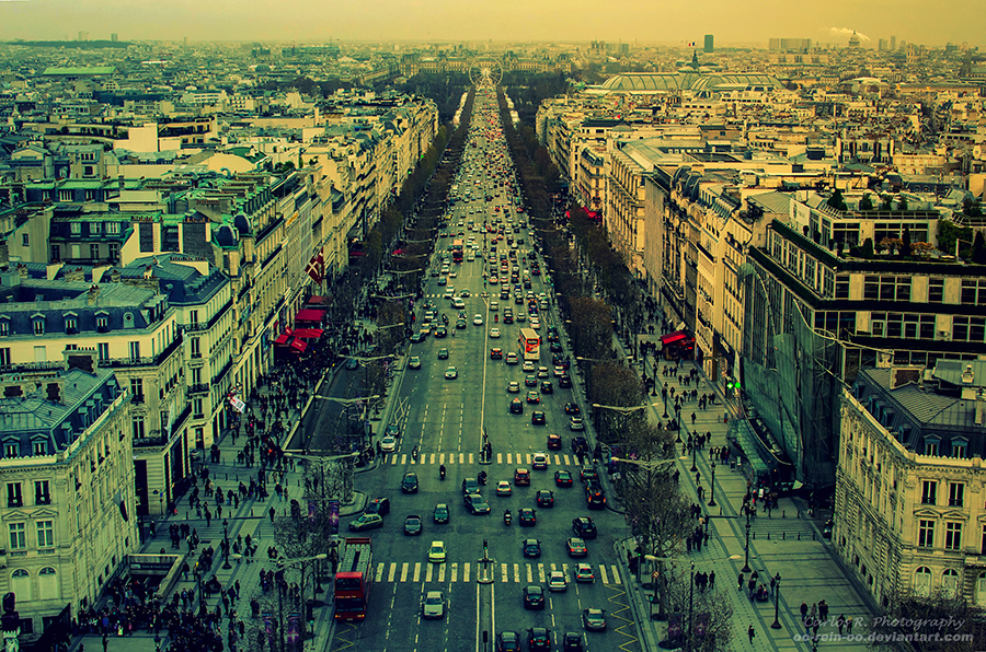 L'Avenue Des Champs Elysees by oO-Rein-Oo