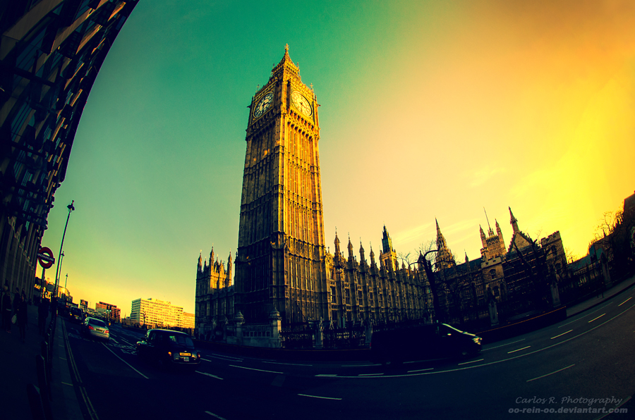 The Big Ben by oO-Rein-Oo