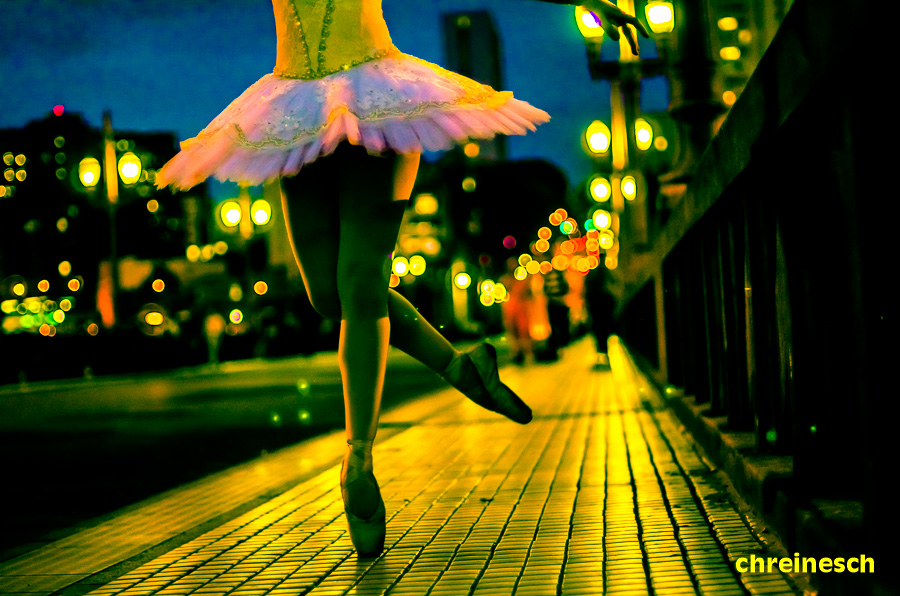 The Rainbow Ballerina by oO-Rein-Oo